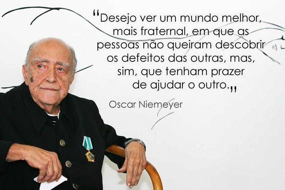 A inscrivel história do Arquiteto Oscar Niemeyer  - A História do Arquiteto Oscar Niemeyer